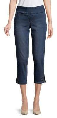 Jag Naomi Studs Cropped Jeans