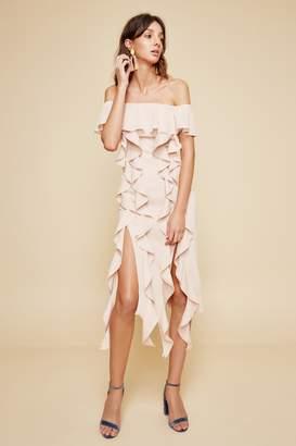 C/Meo COLLECTIVE DREAM STATE DRESS blush