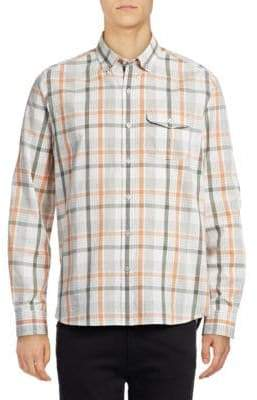 Michael Bastian Plaid Sport Shirt