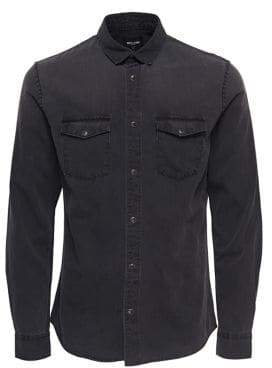 ONLY & SONS Denim Button-Down Shirt