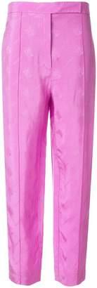 Nina Ricci logo jacquard high-rise pants
