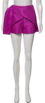 Paper London Draped Mini Shorts