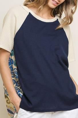 Style U Short-Sleeve Hooded Top