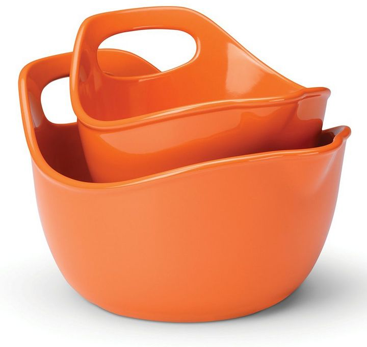 Rachael Ray 2-pc. mixing bowl set