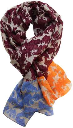 Mulberry Lords of Harlech - Sahara Print Scarf In
