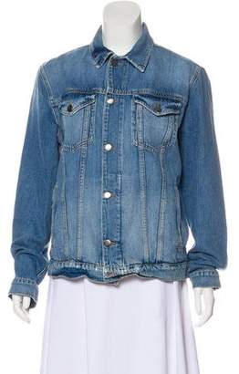 Frame Long Sleeve Denim Jacket