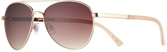 Lauren Conrad Crux 59mm Aviator Sunglasses