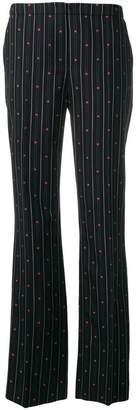 Escada striped jacquard trousers