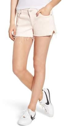 DL1961 Renee Notch Raw Hem Denim Shorts