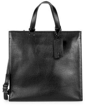 Valentino Leather Large Tote