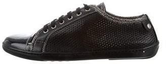AGL Cap-Toe Low-Top Sneakers