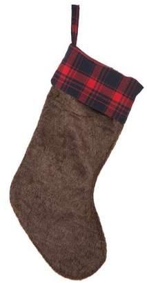 Glitzhome Faux Fur Stocking