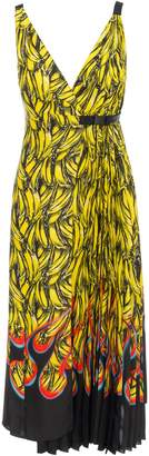 Prada Long Dress Banana
