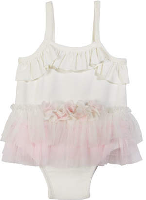 Miniclassix White Grey Baby Dress Leggings Ruffle Heart 6 Months Girls' Clothing (newborn-5t)