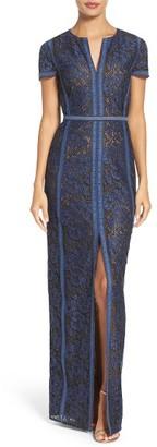 Women's Bcbgmaxazria Cailean Lace Gown $368 thestylecure.com