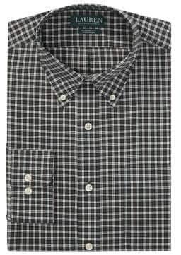 Lauren Ralph Lauren Plaid Cotton Dress Shirt