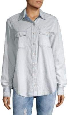 Free People Bandana Bandit Button-Down Shirt