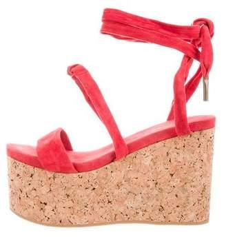 Isabel Marant Suede Platform Sandals
