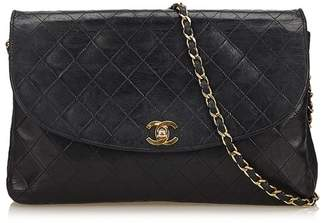 Chanel Vintage Matelasse Leather Chain Flap Bag 24c1192b59dce