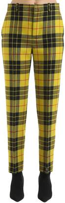 Balenciaga Wool Plaid Pants