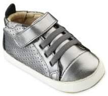 Old Soles Baby's Cheer Bambini Metallic Leather Sneakers
