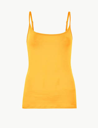c72a0ae61fad5 M S CollectionMarks and Spencer Fitted Camisole Top