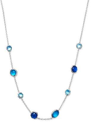 Ippolita Sterling Silver Rock Candy® Wonderland Mini Gelato Doublet Short Station Necklace in Island, 16""