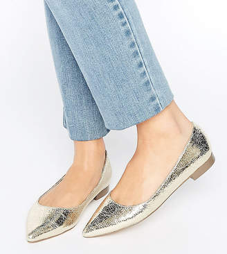 Asos Design LOST Pointed Ballet Flats