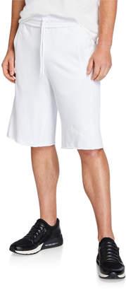 Puma Men's 12 Sweat Raw Edge Bermuda Shorts