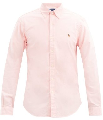 Polo Ralph Lauren Slim Fit Cotton Oxford Shirt - Mens - Pink