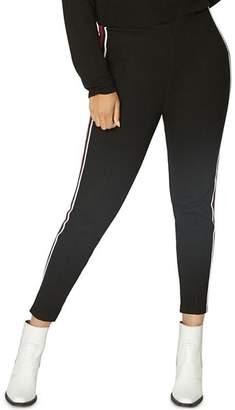 Sanctuary Curve Sport Stripe Track Pants
