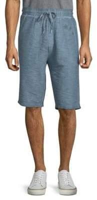 Antony Morato Textured Cotton Shorts
