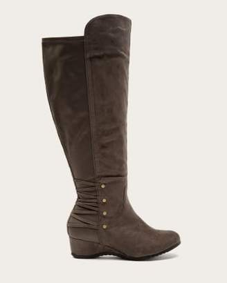 Penningtons Extra Wide Calf Tall Boots with Studs