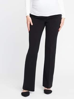 Old Navy Maternity Premium Full-Panel Slim-Flare Harper Pants