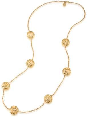 Trina Turk Cutout Bead Illusion Necklace