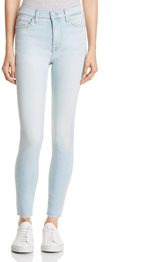 Barbara Ankle Straight Jeans in In Love