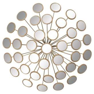 DecMode Decmode Metal Mirror Wall Decor, Multi Color