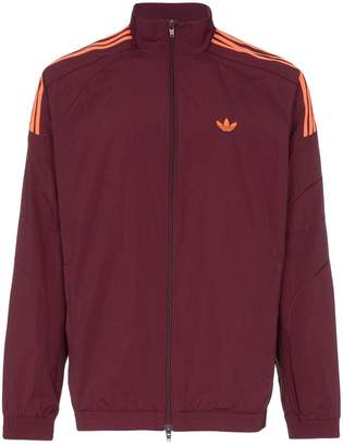adidas triple stripe bomber jacket