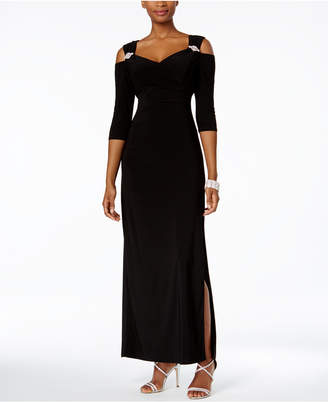 R & M Richards Cold-Shoulder Gown $89 thestylecure.com