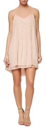 Women's Sanctuary Spring Fling Racerback Mini Slipdress $119 thestylecure.com