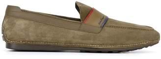 Salvatore Ferragamo contrast trim loafers