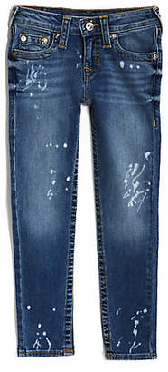 True Religion TODDLER/BIG KIDS BLEACH SPLATTER SKINNY JEAN