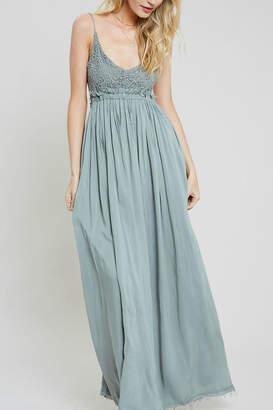 Pretty Little Things Crochet Maxi Dress