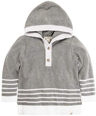 Burt's Bees Kids Hooded Organic Cotton Sweater