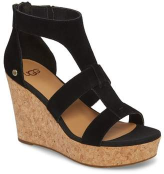 dcf63d1a64d UGG Wrapped Wedge Women s Sandals - ShopStyle