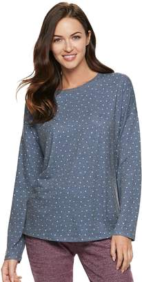 51d6a286e7 Sonoma Goods For Life Women s SONOMA Goods for Life Waffle Pajama Tee