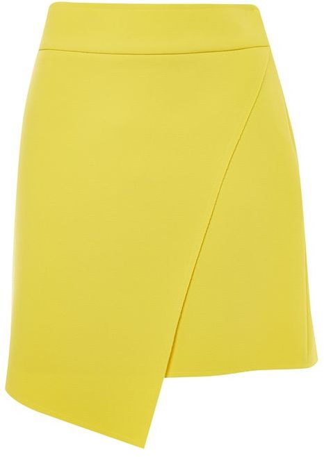 Topshop Topshop Assymetric wrap mini skirt