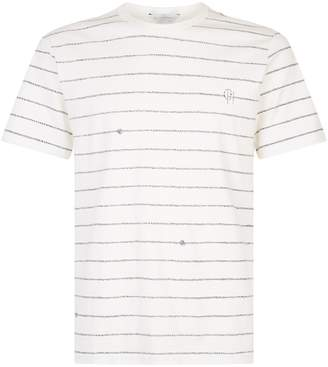 Gieves & Hawkes Rope Print T-Shirt