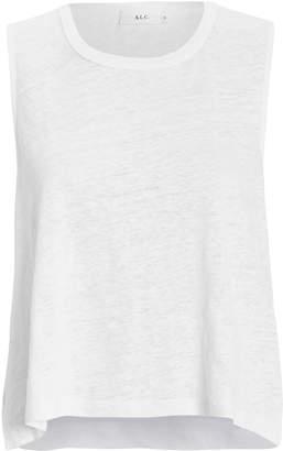 A.L.C. Ines Linen Tank Top