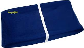 NoJo Alligator Blues Velboa Fleece Contoured Changing Pad Cover